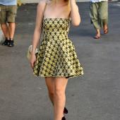 Dakota Fanning high heels