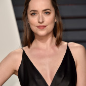 Dakota Johnson braless