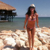 Dania Ramirez beach