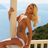 Delfina Aziri topless
