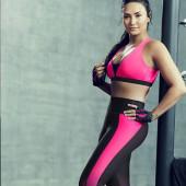 Demi Lovato leggings