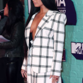 Demi Lovato tit slip