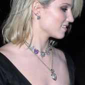 Dianna Agron oops