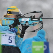 Elena Khrustaleva biathlon