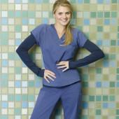 Eliza Coupe scrubs