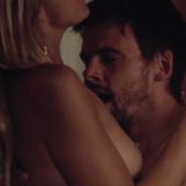 Eliza Coupe topless scene