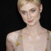 Elizabeth Debicki braless