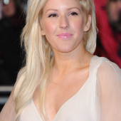 Ellie Goulding braless