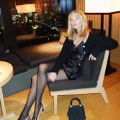 Elsa Hosk stockings