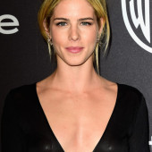 Emily Bett Rickards see through