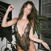 Emily Ratajkowski lingerie