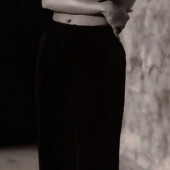 Emma de Caunes topless
