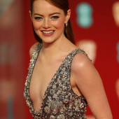 Emma Stone cleavage