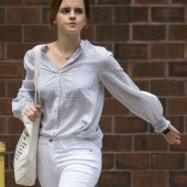Emma Watson braless