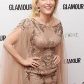Gillian Anderson braless