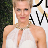 Gillian Anderson c through
