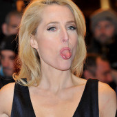 Gillian Anderson leaked