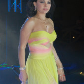 Haifa Wehbe braless