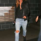 Halle Berry jeans