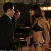 Hannah Simone hot scene