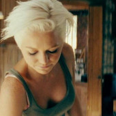 Hannah Spearritt downblouse