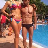Hannah Waddingham bikini