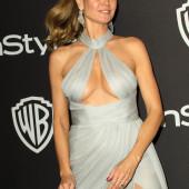 Heidi Klum ohne bh
