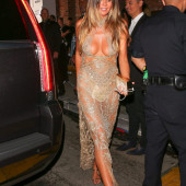 Heidi Klum see through