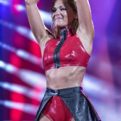 Helene Fischer latex outfit