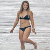 Hilary Duff beach