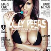 Holly Peers cleavage