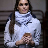Hope Hicks fake