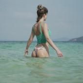 Isabell Horn bikini