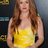 Isla Fisher cleavage