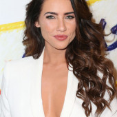 Jacqueline MacInnes Wood cleavage