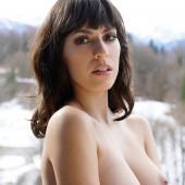 Jacqueline Scherer oben ohne