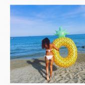Janina Uhse bikini