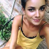 Janina Uhse selfie