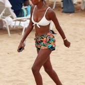 Jasmine Tookes beach