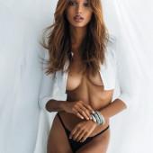 Jasmine Tookes underboob