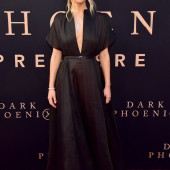 Jennifer Lawrence braless