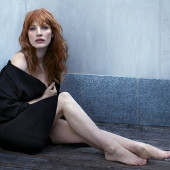 Jessica Chastain feet