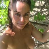 Jill Halfpenny topless