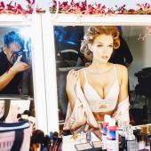 Josephine Skriver cleavage