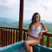 Josephine Skriver swimsuit