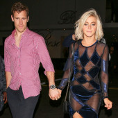 Julianne Hough tit slip