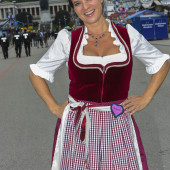 Katarina Witt dirndl