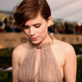 Kate Mara braless