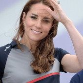 Kate Middleton sexy smile