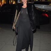 Kate Moss braless